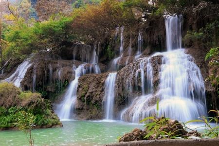 tee lor su waterfall,Thailand Stock Photo - 17693451