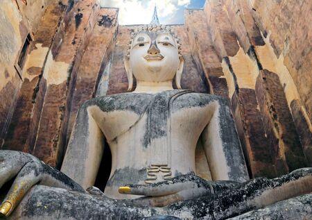 sukhothai: buddha statue Sukhothai Stock Photo