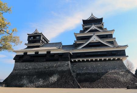 Kumamoto Castle , Kumamoto in Kumamoto Prefecture,japan