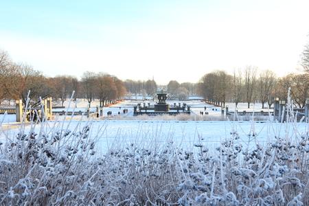 Oslo, Norway - December 30, 2018 : Sculpture created by Gustav Vigeland in Frogner park. Stock Photo - 117481640