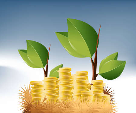 easy money: Business and Financial Concept Background .
