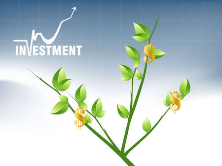 Business and Financial Concept Background .  Vector