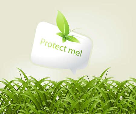 ozon: Ökologie und Umwelt-Konzept-Hintergrund.