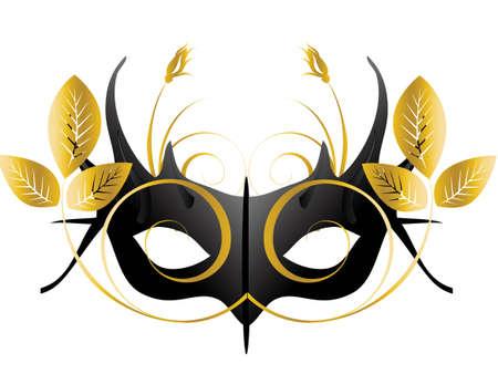 mascaras teatro: Mardi Gras, m�scara de Masquerade Party  Vectores