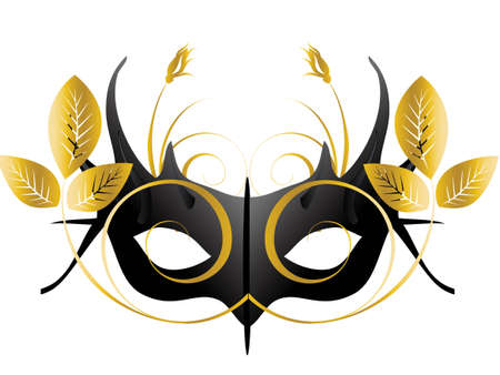 theatrical mask: Mardi Gras, Masquerade Party Mask