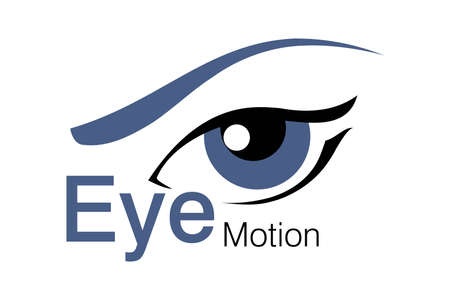 blaues auge: Logo-Kreation f�r Sch�nheit, Animation-Agentur Illustration