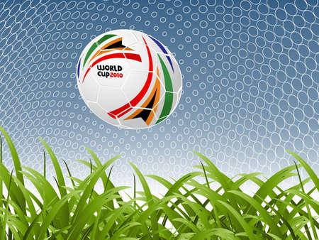 soccer stadium crowd: football concept illustration background. Illustration