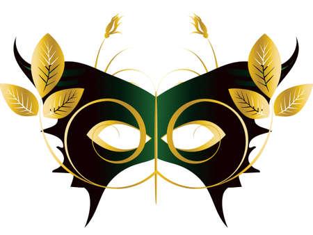 Mardi Gras, Masquerade Party Mask  Stock Vector - 7864532
