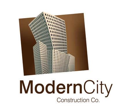 Logo Design for Construction Company. Stock Vector - 7866480