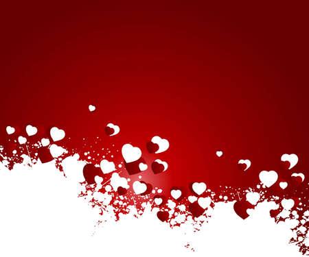 Illustration de la Saint-Valentin, concept parfait pour Saint-Valentin la journ�e facile � utiliser comme carte de v?ux, affiches, prospectus, ad.  Banque d'images - 7866565