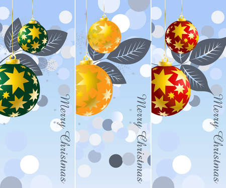 Background for new year and Christmas  Stock Vector - 7864653
