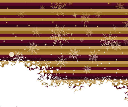 Background for new year and Christmas Stock Vector - 7866571