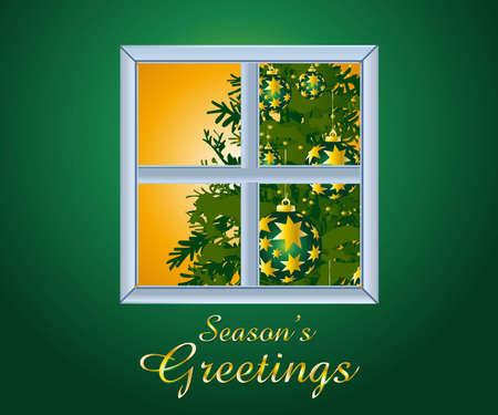 Arrière-plan de Noël et de nouvel an  Vecteurs
