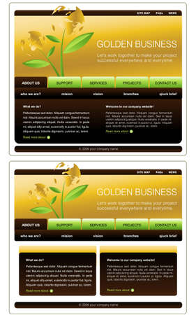 site map: Website Template