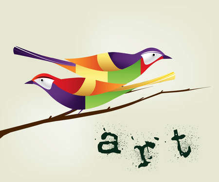 accent abstract: Colorful and stylish abstract background . Illustration