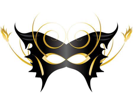 Mardi Gras, Masquerade Party Mask Stock Vector - 7866940