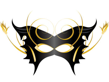 Mardi Gras, Masquerade Party Mask Stock Vector - 7866940