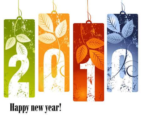 styczeń: Nowa koncepcja roku 2010 Ilustracja