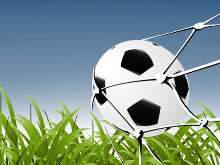 Football Background, soccer sport background. Vector