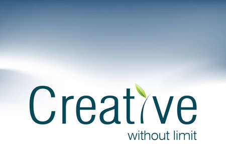 be the identity: Creative logo for creative advertising agencies, be creative.