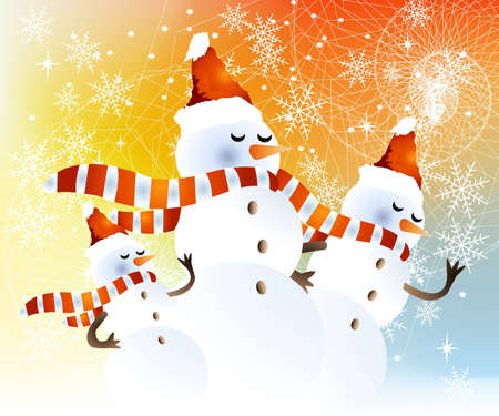 Background for new year and Christmas  Vector