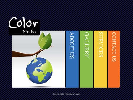 portfolio template: Website Template