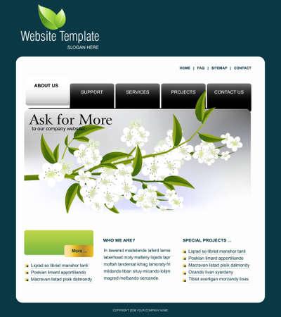 footer: Website Template