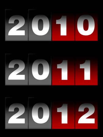 countdown, new year conceptual illustration. illustration