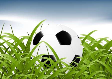 Football Background, soccer sport background. Stock Vector - 8308023