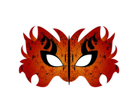 Mardi Gras, Masquerade Party Mask  Stock Vector - 8307591