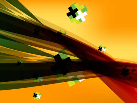 Colorful and stylish abstract background . photo
