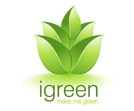 Be Green Illustration Stock Illustration - 8299318