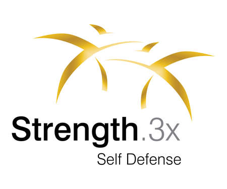 creative strength: Logo Design for self defense Club. Stock Photo