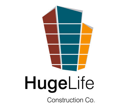 Logo Design for Construction Company. Stock Photo - 8297544