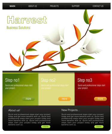 Website Template  photo