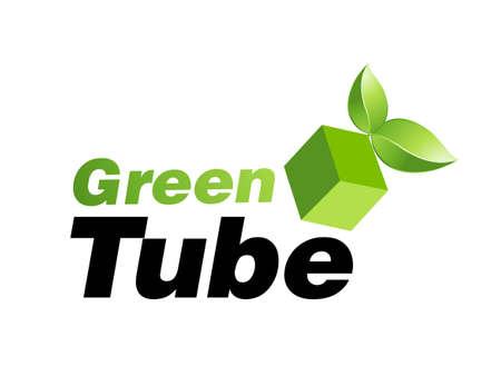 logo reciclaje:   Ilustraci�n de dise�o del logotipo. Foto de archivo