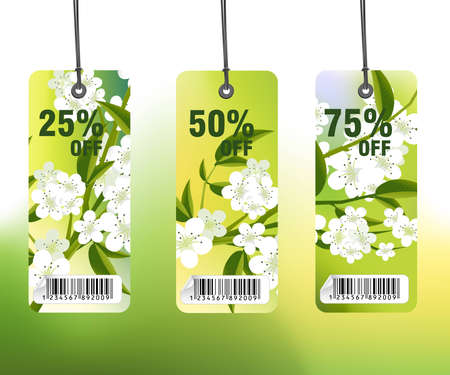 Sales and discount concept Illustration illustration
