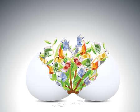 eggshell: plant and egg shell