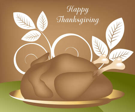 Thanksgiving Concept Illustration Image, you can use it for Thanksgiving  sale time or seasons Stock Illustration - 8308074