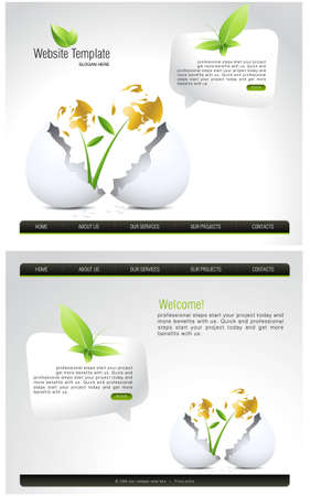 Website Template  Stock Photo - 8307592
