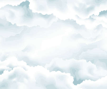 clouds background , open sky , raining weather . Stock Photo - 8297674