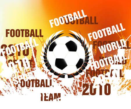 football concept illustration background. Stock Illustration - 8298250