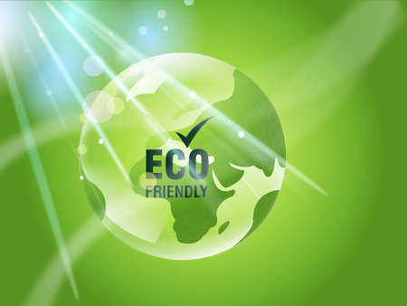 Environmental and Ecology concept  background . Stock Photo - 8298661