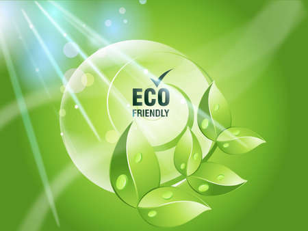 eco friendly: Environmental and Ecology concept  background .