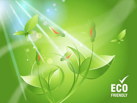 Environmental and Ecology concept  background . Stock Photo - 8307375