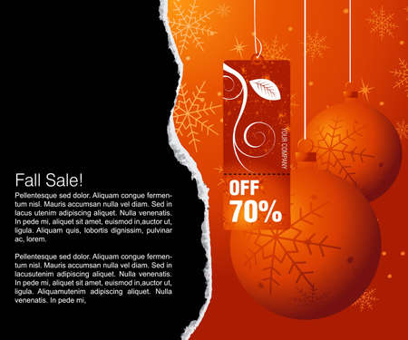 Sales and discount concept Illustration Stock Vector - 8300231