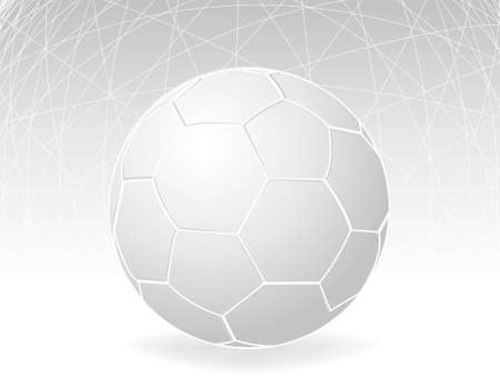 blank football and graylines background . Vector