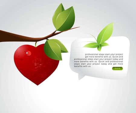 Valentine's Day Concept Illustration . Stock Vector - 8299982