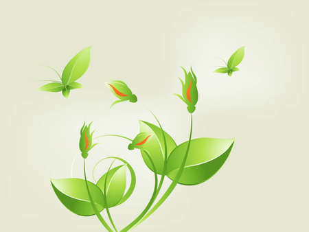 Environmental and Ecology concept  background . Vector