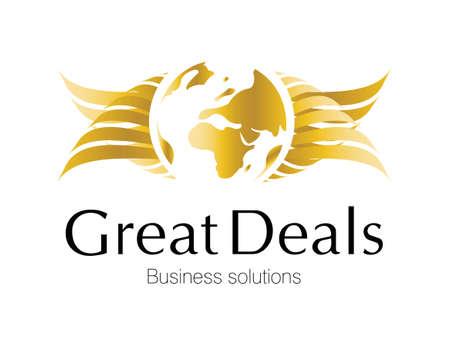 investment solutions: Dise�o de logotipo para la inversi�n y proyectos financieros.